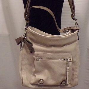 Jessica Simpson Large Tan Shoulder Handbag